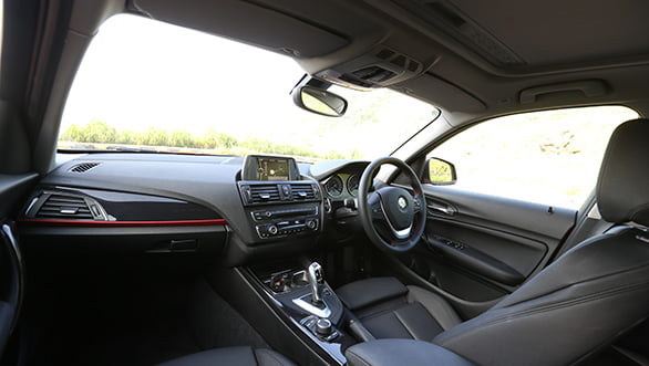 BMW 1-series interiors