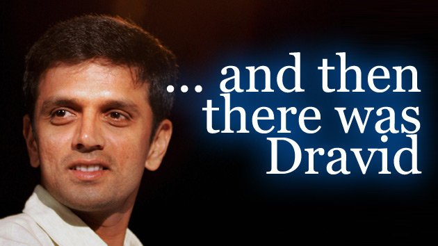 Dravid- the true Gentleman