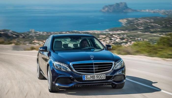 C-class front view