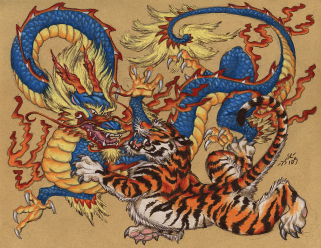 Chinese_Tiger_Versus_Dragon_by_Heatherbeast