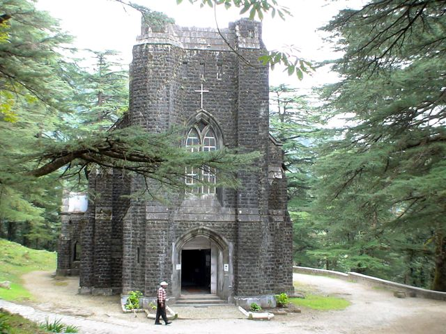 Front-view-of-St-John-Church-of-the-Wilderness-Mcleodganj-Himachal-Pradesh-India