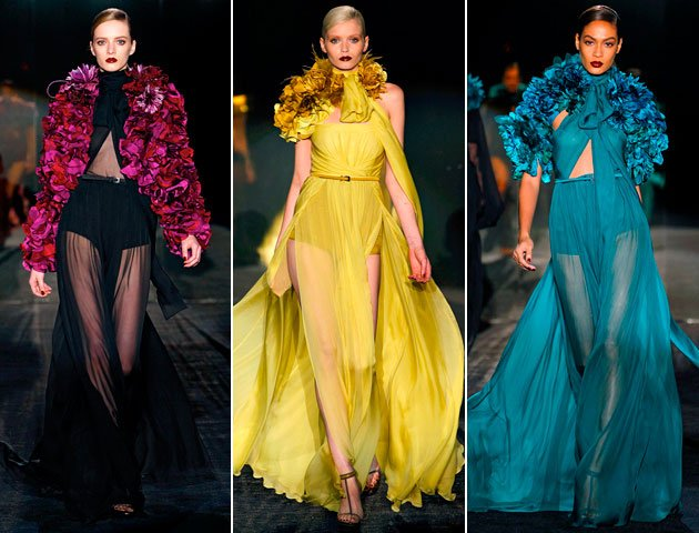Gucci-Colorful-Sheer-Dresses