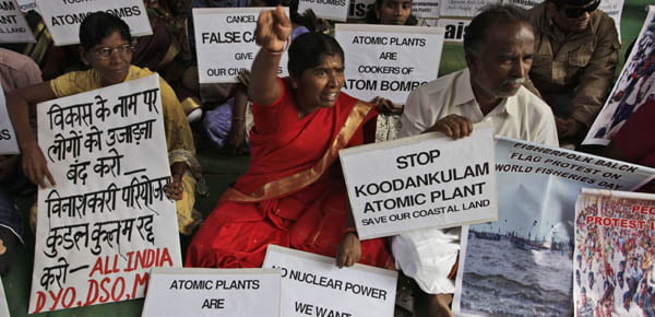 India Nuclear Protest