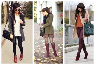 burgundy-boots-for-autumn-and-winter