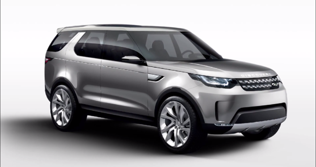 landrover discovery vision