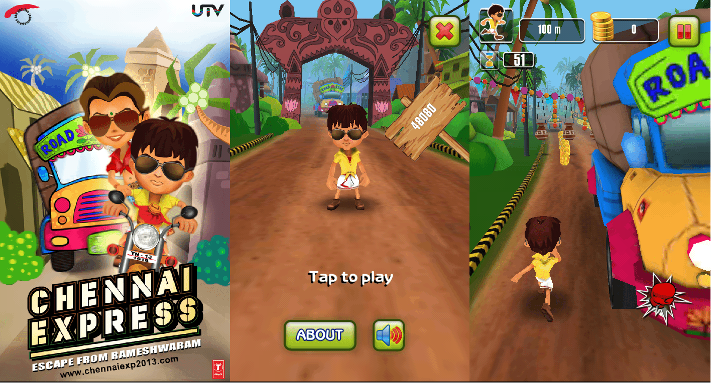 Chennai Express game