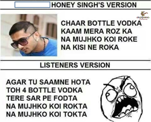 honey singh meme 1