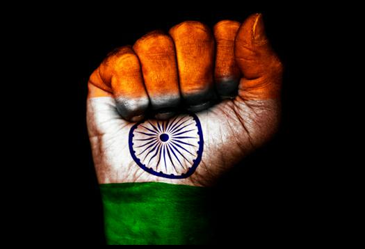 Indian Flag Fist