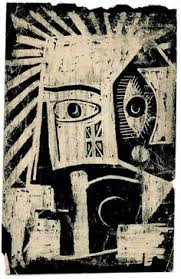 Painting by Andre Breton – The African Mask