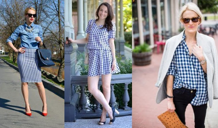 gingham-skirt-and-chambray-shirt