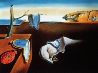 Painting by Salvador Dali – The Persistence of Memory