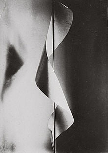 Photograph by Man Ray, Lampshade