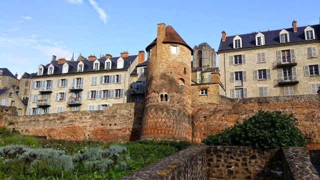 Le Mans-France-The Roman City Wall-C.Burtaire.