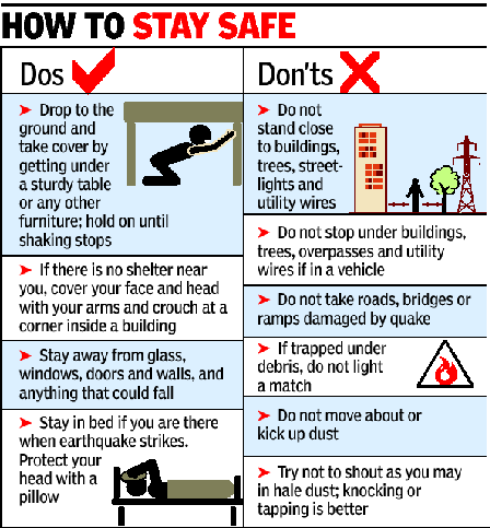 Above all else, protect yourself through these dos and don'ts. Never Panic.