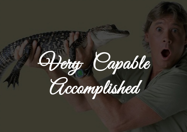 very capable=accomplished