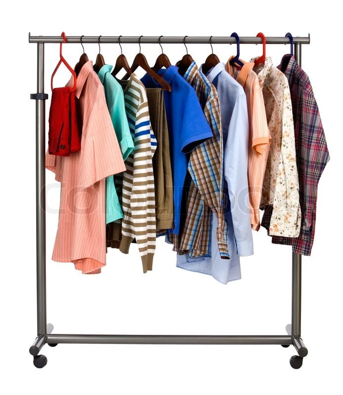 2279245-men-s-clothes-hangs-on-a-hanger-on-white