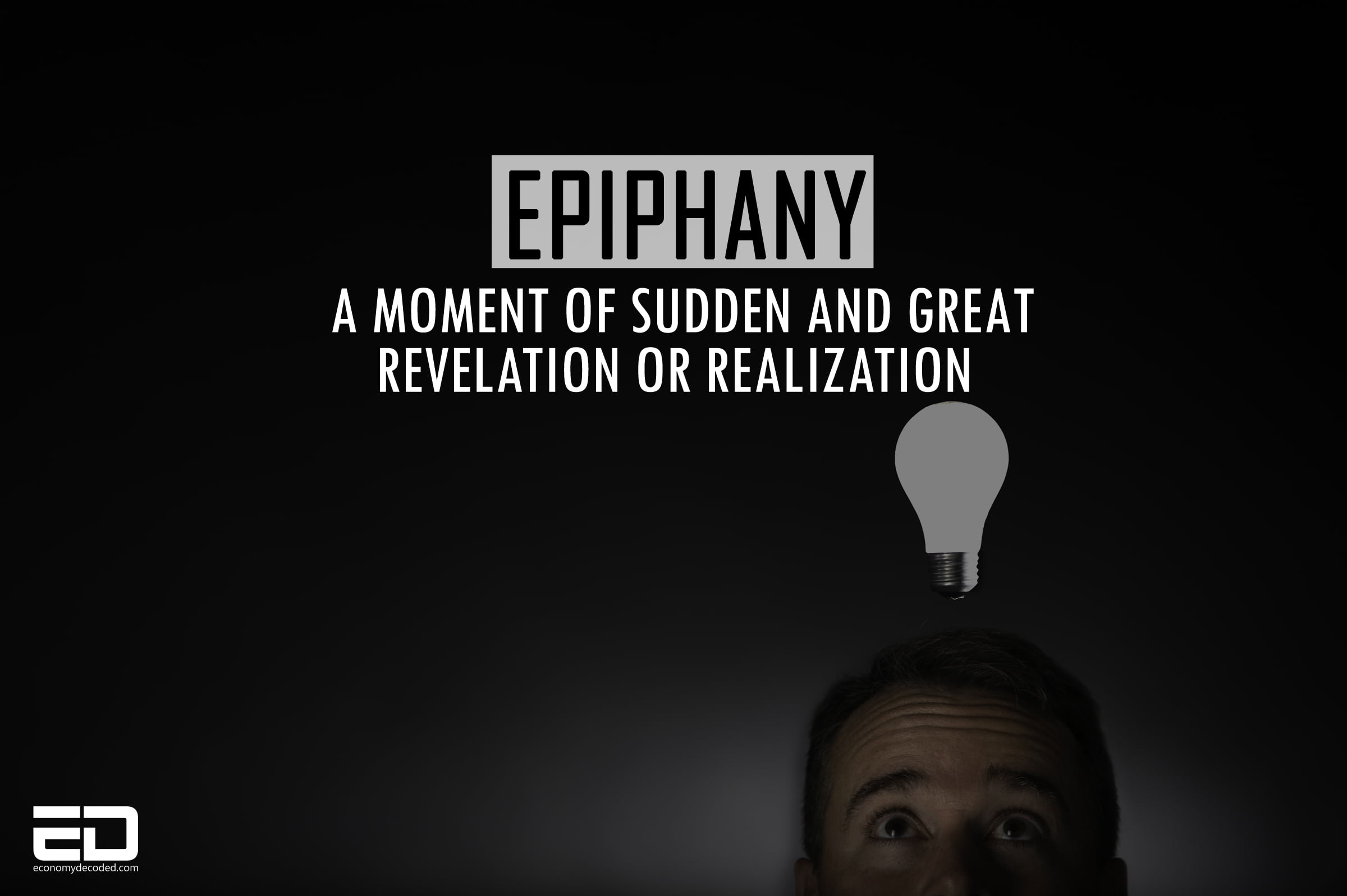 a moment of epiphany essay Definition of epiphany when used as a literary device, an epiphany is a moment in which there is a sudden realization that leads to a new perspective that clarifies a problem or situation a character may have an epiphany, or it may also occur in the narration such that the reader has the epiphany.