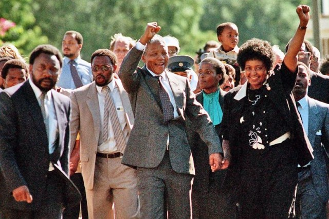 Mandela and Winnie