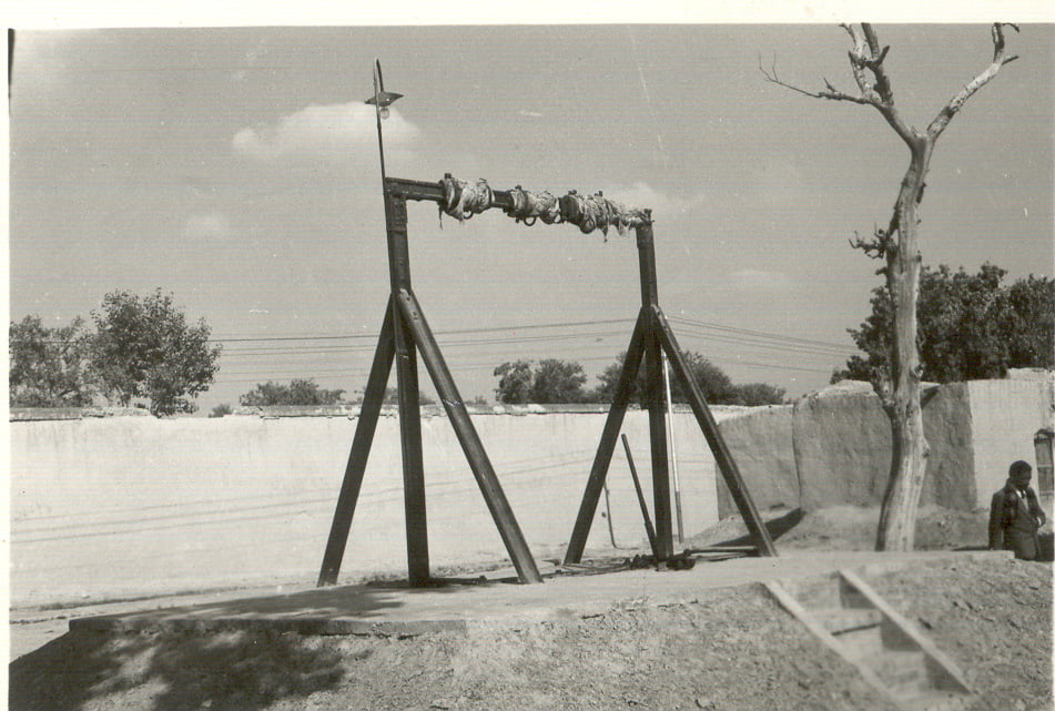 Gallows Jail where Bhagat Singh was hanged. Photo F E Chowdhry. Courtesy: Amarjit Chandan