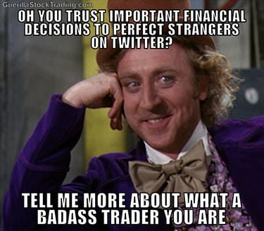 Option trading jokes