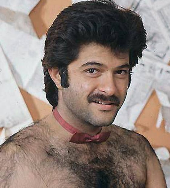 Bollywood Photo Shoots Anil Kapoor in His Hairy Avatar
