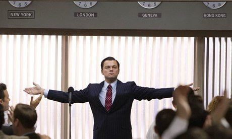 Wolf of Wall Street depicts Belfort's success as an investment banker