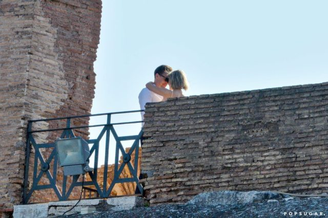 Taylor and Tom at Rome.