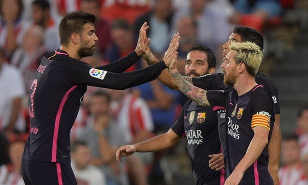Barcelona had little to celebrate, since it was only Ivan Rakitic's goal which prevented a draw.