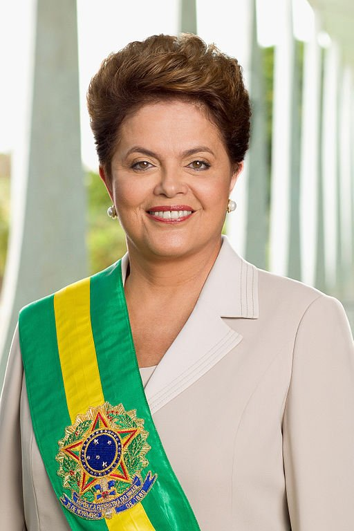 President Dilma Rousseff, who has been impeached prior to the Rio Olympics.