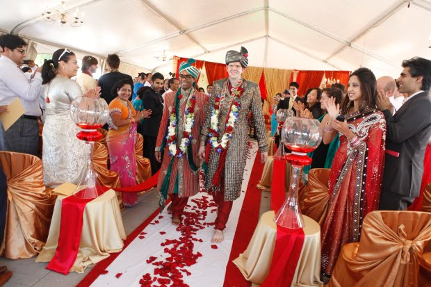 Lavish Indian-gay wedding