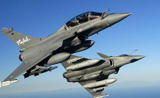 Rafale Fighter Jet in Operation