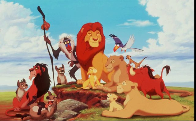 "A scene from the movie ""Lion King."" (GNS Photo) ORG XMIT: GPN7"