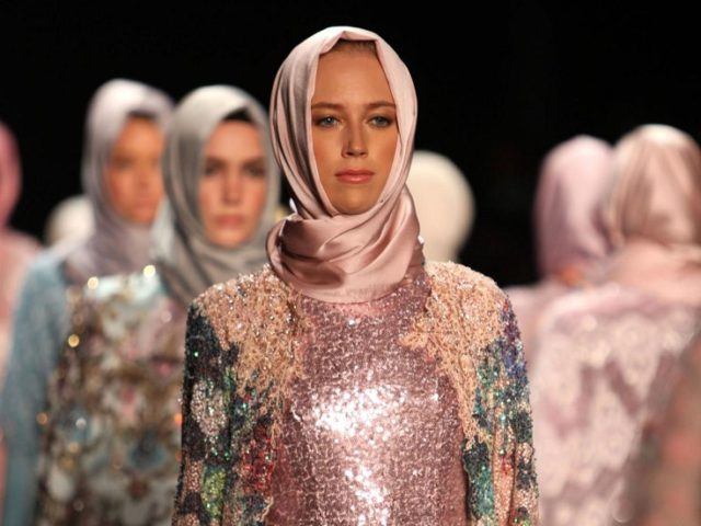 Models dazzled the ramp in designer hijab along with the outfits!