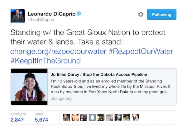 dicaprio_twitter_dakota_access_pipeline