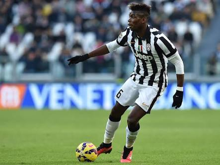 Pogba in his Juventus days, where he became a dominant force.