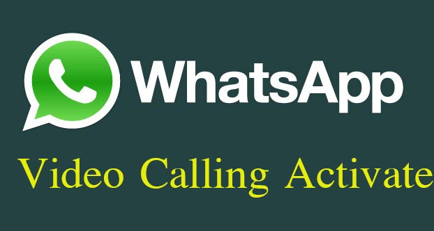 whatsapp video calling cannot be activated using links.