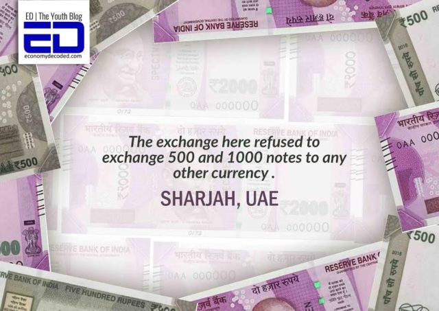 NRI experience trying to exchange currency