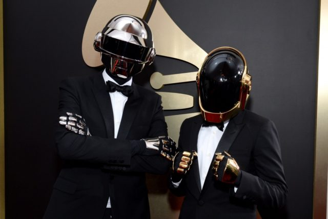 The iconic duo Daft Punk, who've produced arguably the 2 best tracks on the album.