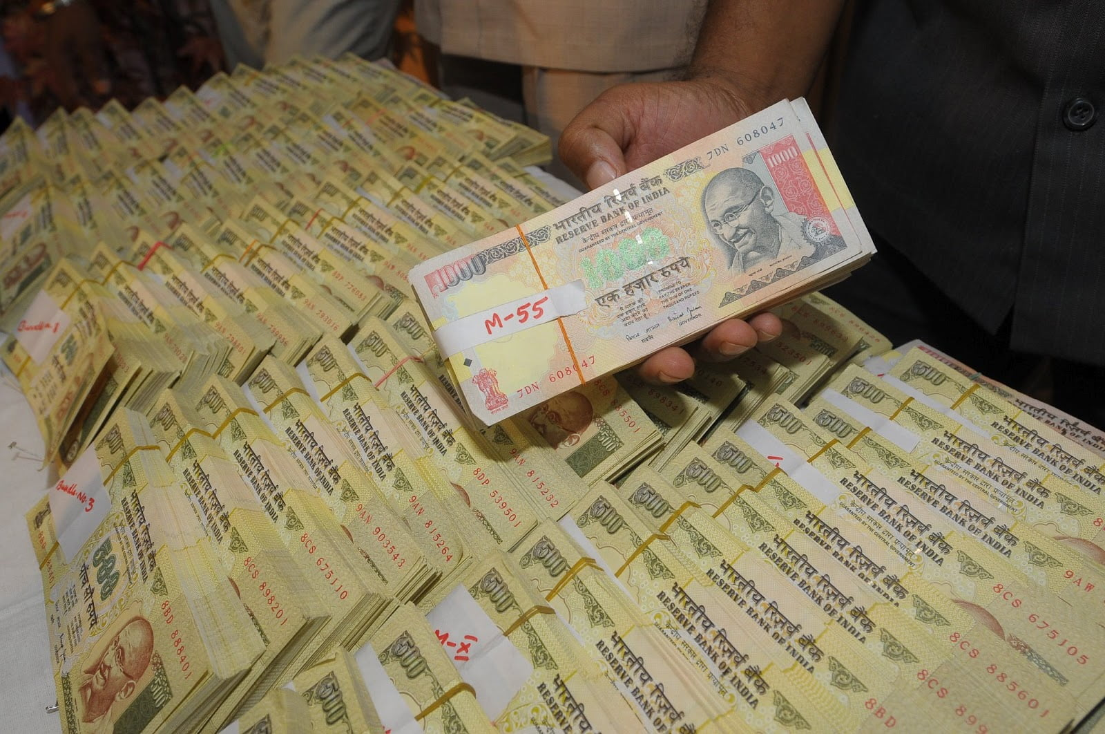 income tax raids and black money