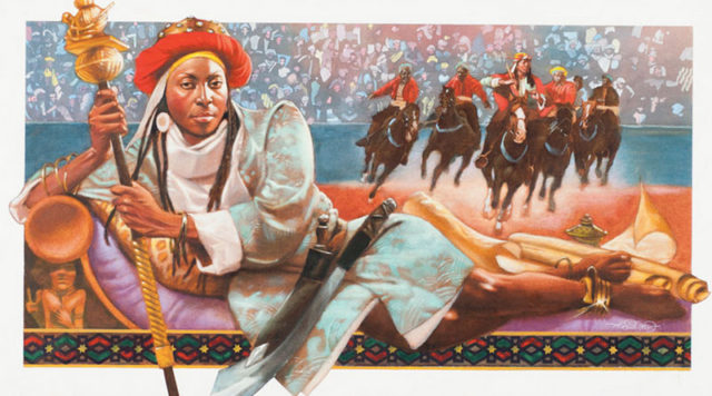 Zazzau had its largest size by the time of Queen Amina's demise.
