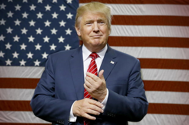 Donald Trump, the new President of the United States.