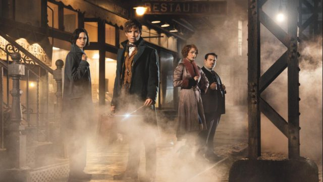 Main cast of Fantastic Beasts and Where to Find Them