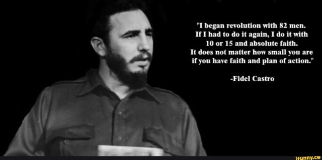 Fidel castro on revolution and faith
