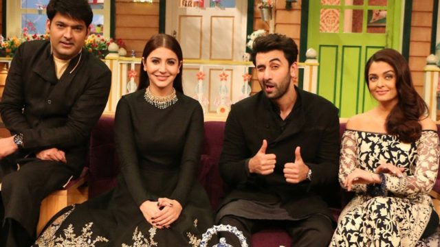 One of the stills from Kapil Sharma's show. Big celebs find it a perfect place for film promotion.