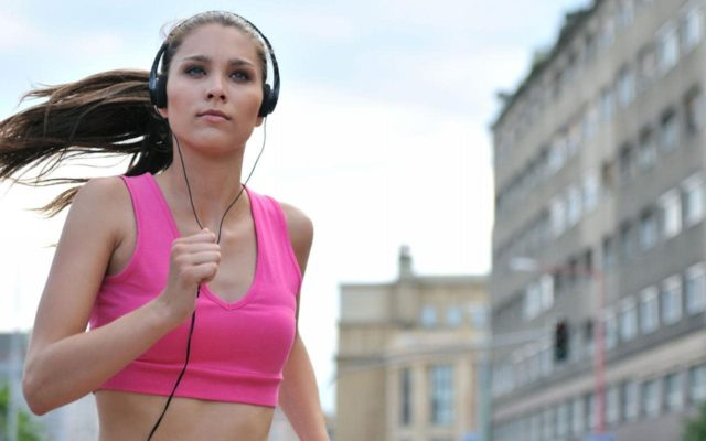 listen to audiobooks while working out