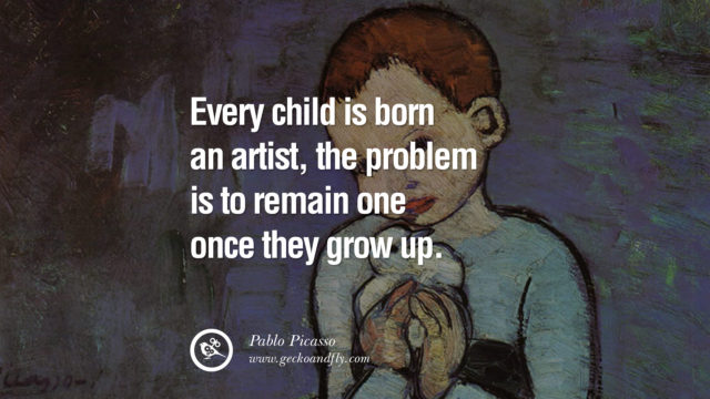 children are born with creativity