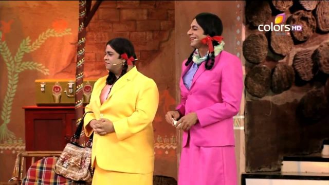 Kiku Sharda and Sunil Grover have consistently played female characters on the show.