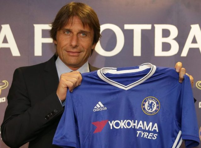 Antonio Conte was confirmed as the Chelsea coach at the start of the 2016-17 season.