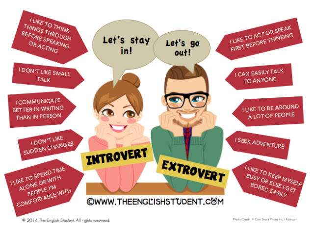 An introvert and extrovert can definitely explore each other's personality and learn a lot from each other.