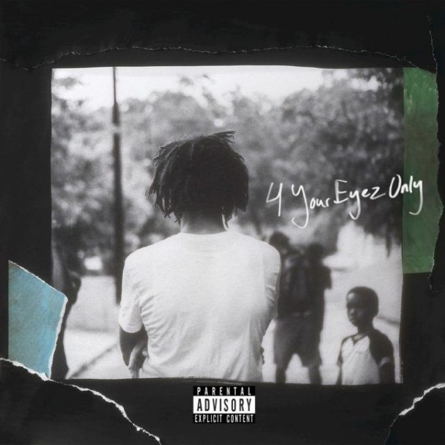 J. Cole - For Your Eyez Only Album Cover